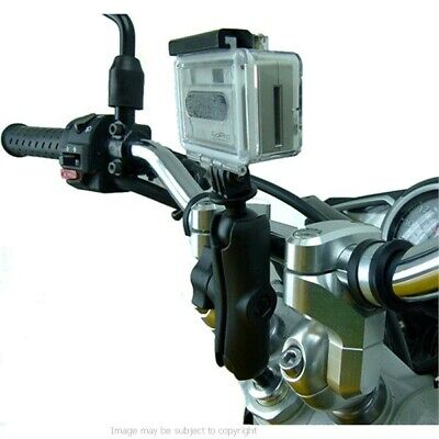 Motorcycle Fork Check Yoke Camera Mount 17.5mm - 20.5mm for Go Pro Hero