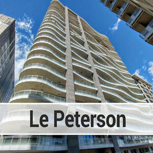 LUXURY CONDO 2BEDROOM + 2STUDIES  CLOSE to McGILL @ LE PETERSON