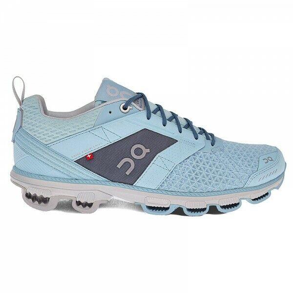 On Running Cloudcruiser Aqua Moon Damen Laufschuhe Running Schuhe Freizeit Blau