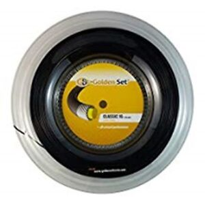 NEW - GOLDEN SET 1.30 TENNIS STRING REEL , 200M .,