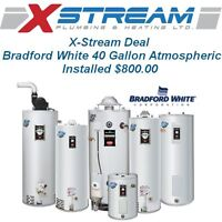 X-Stream Hot Water Tank Deal with free installation.