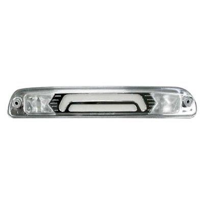For Ford F-350 1999-2016 Recon Chrome Fiber Optic LED 3rd Brake Light