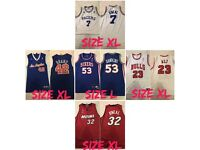 Basket ball jerseys