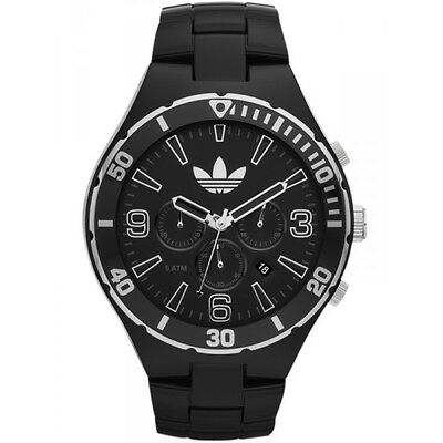Adidas ADH2741 MELBOURNE BLACK MENS Chronograph Analog  Watch $125.00