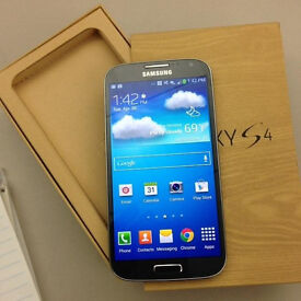 Samsung galaxy S4 New, original, black color, 16GB, Unloocked, Cheap Bargain Price to clear