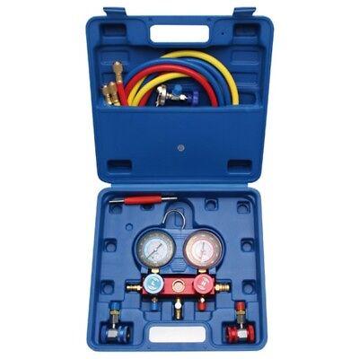 BGS Druckuhr-Armatur für Klimaanlagenprüfung 8425 KFZ Klimaanlage Prüfgerät