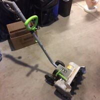 "Earth wise 14"" electric snow thrower"