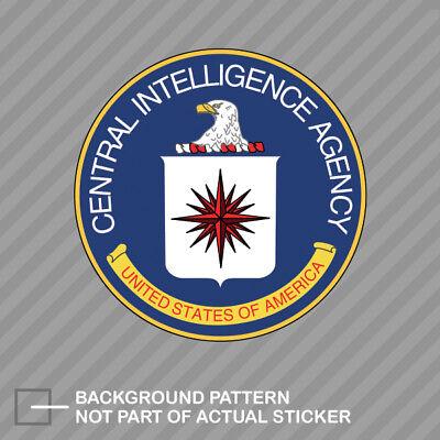 Central Intelligence Agency CIA Seal Sticker Decal Vinyl black usa clandestine