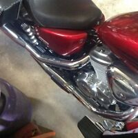 Parts seat tank fender turn signals complete exhaust