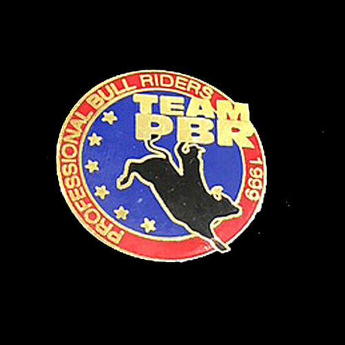 Professional Bull Riders 1999   TEAM PBR  2 PINS  Rodeo
