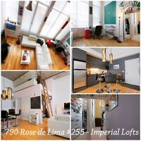 Fully Furnished Loft - 14' Ceilings - Great condo amenities!