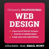 Super Modern Mobile Responsive Website- $399 only