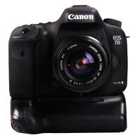 Canon 7D Mark ll DSLR 7D2 Vertical BatteryGrip+2Loader Charger
