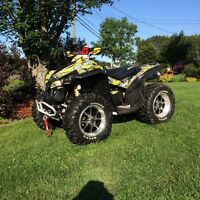 2008 can am renegade x 800
