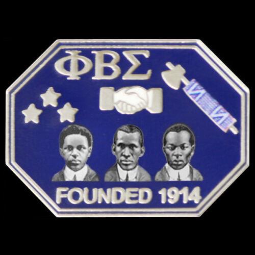 Phi Beta Sigma Fraternity Founders Lapel Pin-New!
