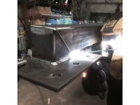 Welding and fabrication machining laser cutting drilling rolling sheet metal milling turning stock