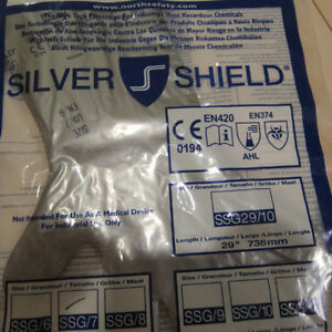 Gloves Silver Shield Chemical Resistant London Ontario image 2