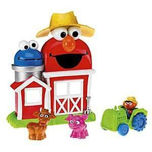 Fisher-Price ELMO'S FARM Playset, NEW