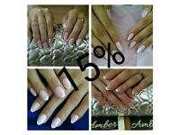 15% off for new clients Manicure Pedicure Shellac Gel Nails Extension Acrylic Gel in Leytonstone