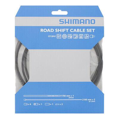 Kit Cavi e Guaina Cambio Shimano Sil-Tec Black ROAD SHIFT CABLE SET...