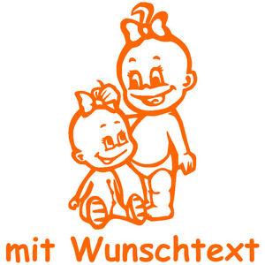 GESCHWISTERAUFKLEBER-Babyaufkleber-Aufkleber-Sicherheitsaufkleber-G5-MM