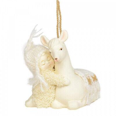 Snowbabies Peaceful Kingdom Llama Xmas Christmas Ornament