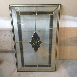 Door glass insert 22 x 36