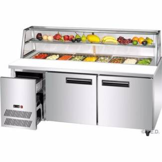 FED Deluxe Refrigerated Sandwich Bar SCB/15