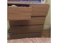2+3 chest of drawers