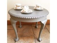 Grey Shabby Chic Coffee Table