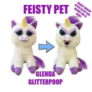 Glenda Glitterpoop Plush Feisty Pet Highly Collectible!!!