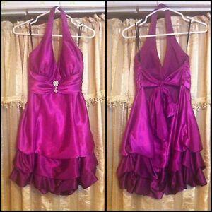 Beautiful Pink/Purple Semi formal Dress