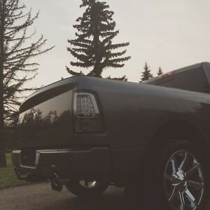 "22"" Kmc slide rims with Nitto 420S tires off ram 1500 Strathcona County Edmonton Area image 2"