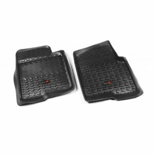09-10 Ford F150 Front Floor Liners -Black (RGR82902.03)