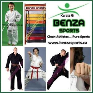 KARATE GI / KARATE UNIFORM ON SALE ONLY @ BENZA SPORTS