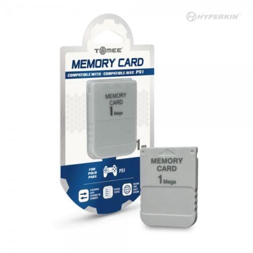 New Memory Card PS1 Playstation 1 PSOne 15 Blocks 1MB  - USA SELLER FAST SHIP