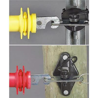 3 Pk Dare 6 Pc Wood T-post Electric Fence Gate Anchor Kit Less Handles 3230