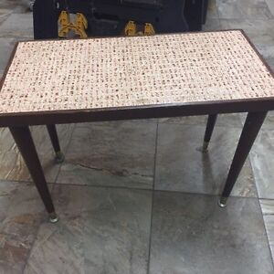 Cute little tiled table