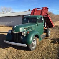 1940 Ford 1 ton with hoist