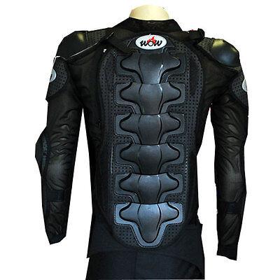 - MOTORCYCLE MOTOCROSS BMX MX ATV BIKE GUARD KIDS PROTECTOR YOUTH BODY ARMOR BLACK
