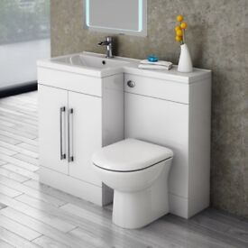 Matrix 1100mm Combination Toilet and Basin by Kartell
