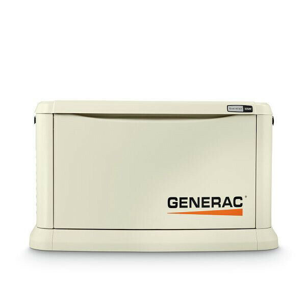 Generac 22/19.5 KW Air-Cooled Standby Generator 70422 New