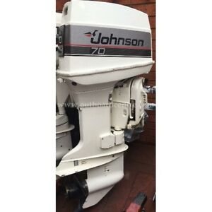 70 hp Johnson Hood in Good condition