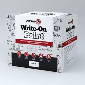 Zinsser Write on, Ideal for offices,Schools, children's bedroom walls, many many uses.