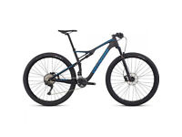 Specialized EPIC FSR COMP CARBON 29 Mountainbike - 2017 - gloss carbon neon blue
