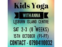 Yoga kids classes starting soon!