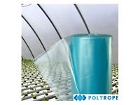Polytunnel Clear Polythene Sheeting Uv-4 Greenhouse