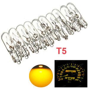 10x 12V 2W Instrument Tachometer Tacho Glühlampe Birnen Beleuchtung für T5 286