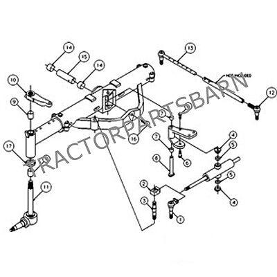 Ih Farmall Case Complete Front Axle Overhaul Kit 786 886 986 1066 1466 1566