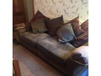 3 Seat Sofa with cushions.